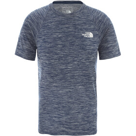 The North Face Impendor Seamless T-Shirt Herren blue wing teal white heather